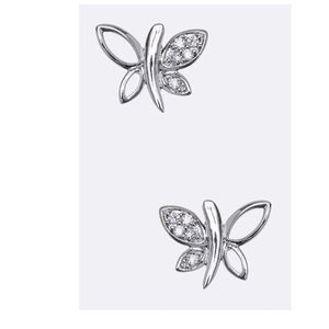 Jewelry - 🎀DEAL 2 @ $30🎀 Just In💖CZ Butterfly Studs